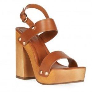 Joie Dea Heel SVA 2742 Cuoio leather chunky heel